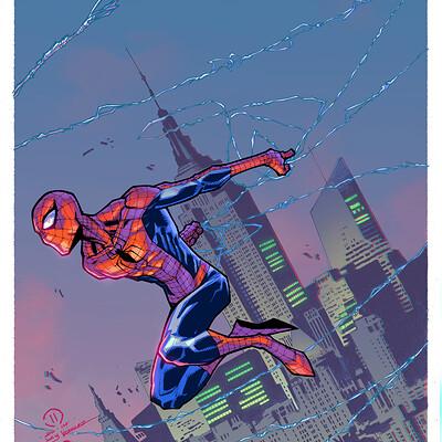 Maksim strelkov the amazing spider man by joeyvazquez 3