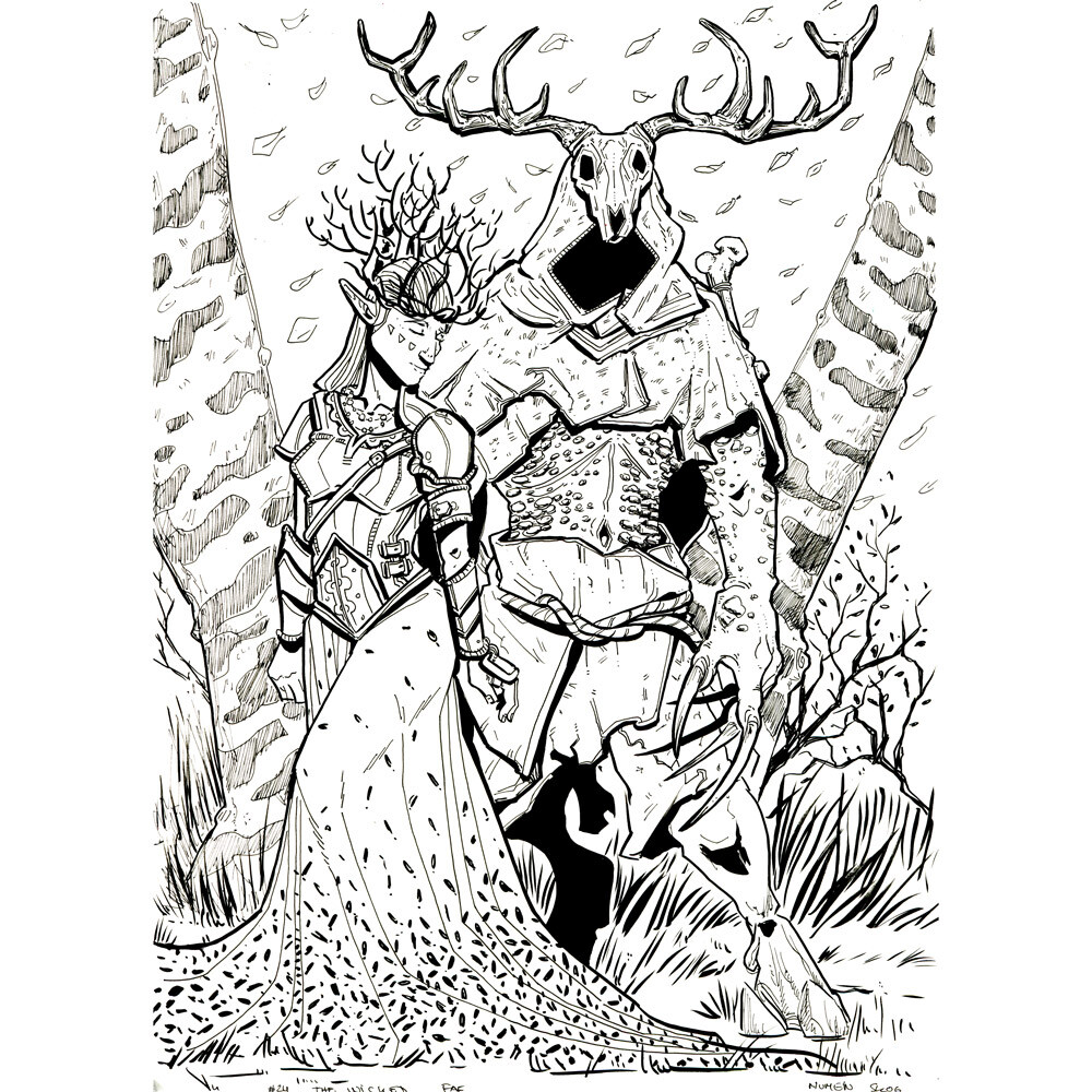Day 24: The Wicked Fae