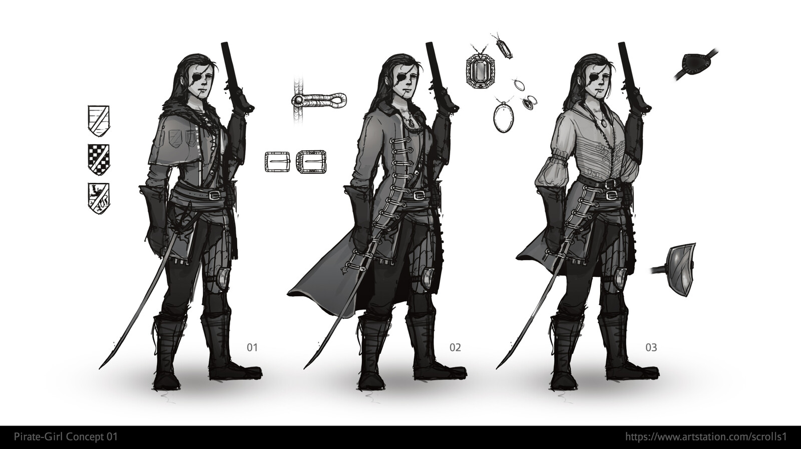 Pirate-Girl Concept 01