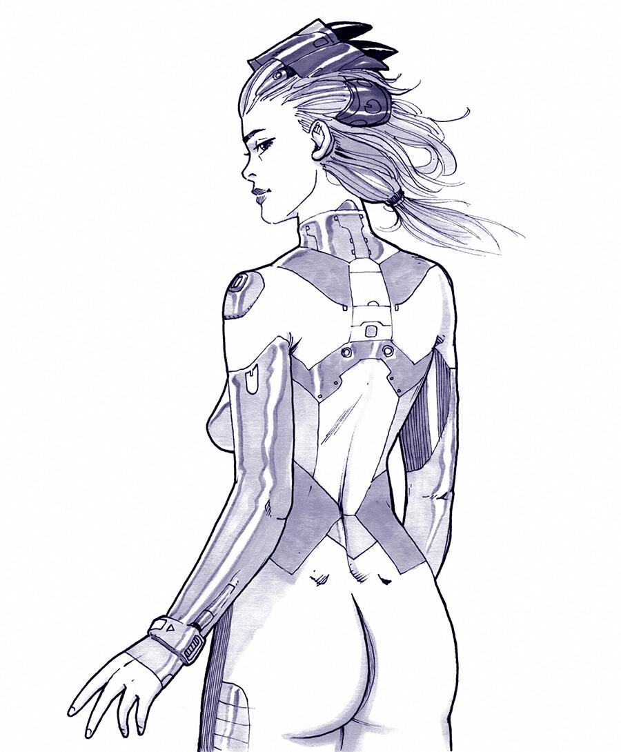 Lorenz hideyoshi ruwwe inktober skinsuit girl s