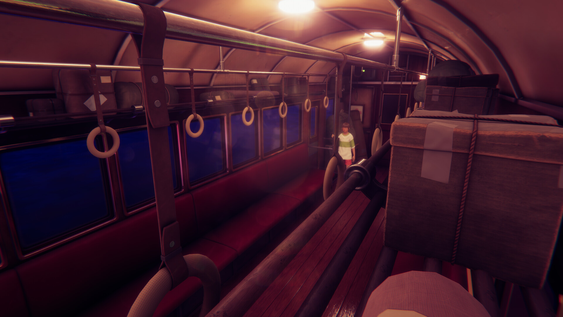 Paul Marundan Wip Spirited Away Train Scene Unity Hdrp