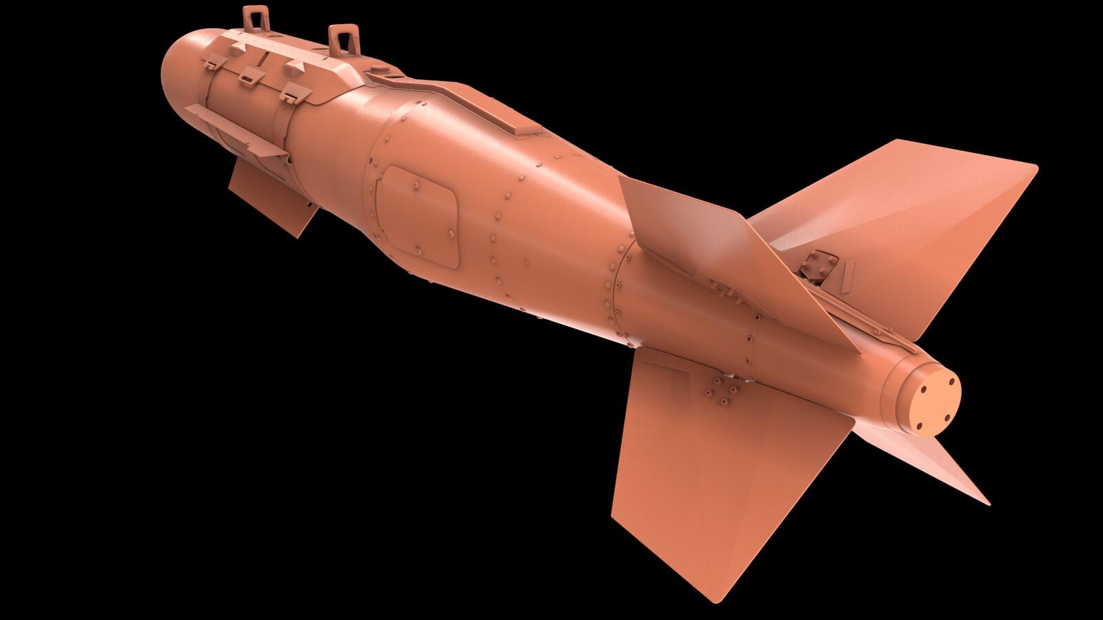 GBU-31(V)-3B JDAM W.I.P.
