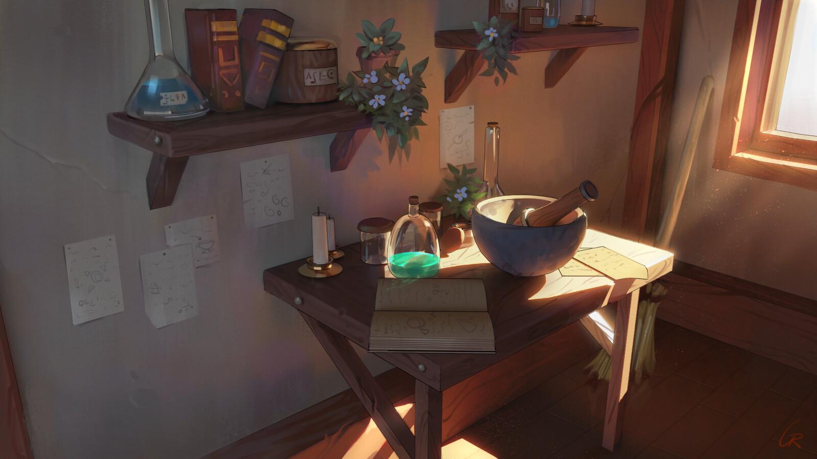 Alchemy Corner