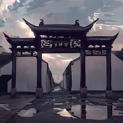Madeleine bellwoar jiangsu china arch speedpaints