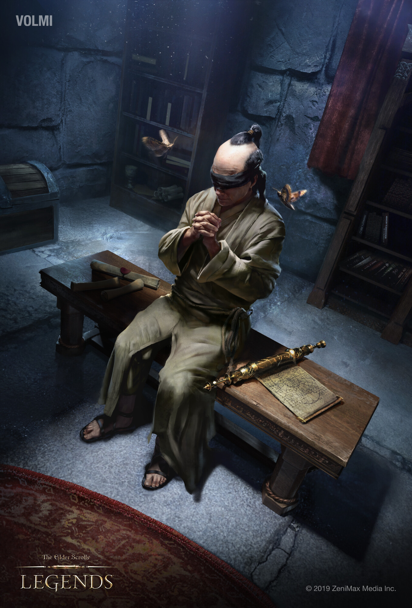 Arthur gurin tesl blind moth priest