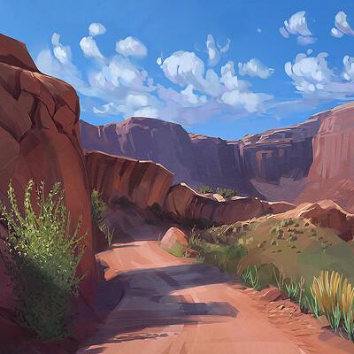 Madeleine bellwoar andy desert landscape s