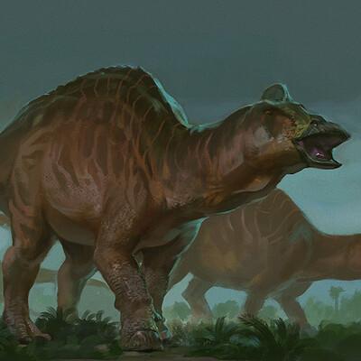 Raph herrera lomotan edmontosaurus by raphtor ddj48uu