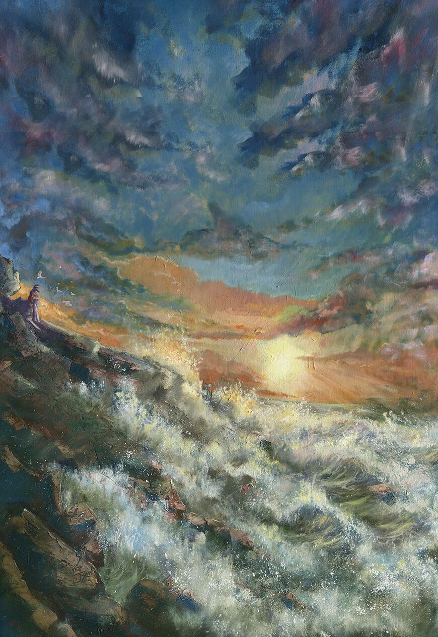 The original oil painting