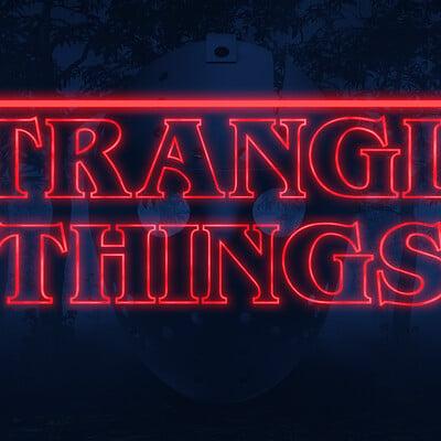 Dean bowen strangle things title sequence parody