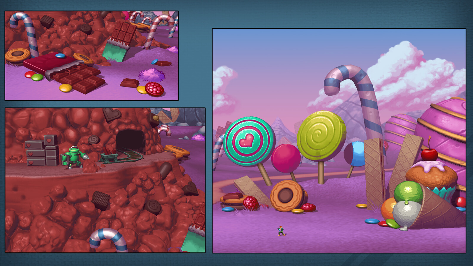 Every game should feature a Candy level