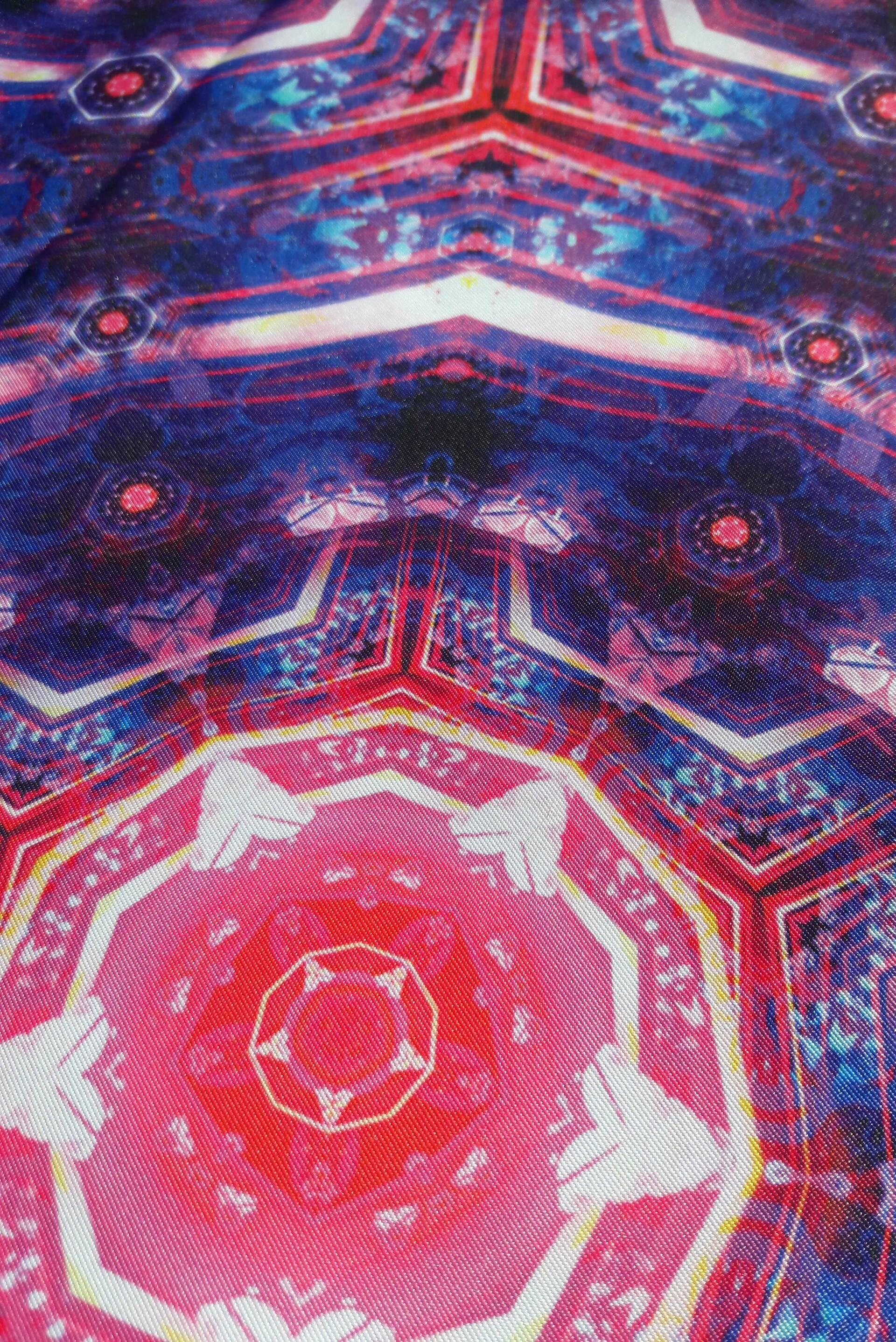 Natural warp oath of the jewel box tapestry medium detail 02