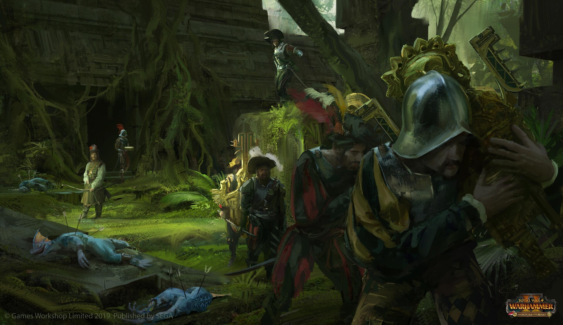 Artstation Warhammer 2 The Hunter The Beast Release Trailer Artworks Lucas Staniec The wanderer mtg art by wesley burt. artstation warhammer 2 the hunter