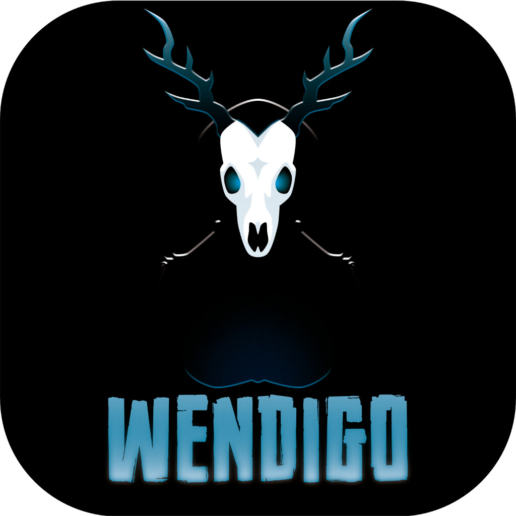 The image of an animalistic antlered creature is not accurate to the source Wendigo beliefs, but it's too striking an image to pass up.