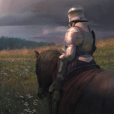 knight painting exercises