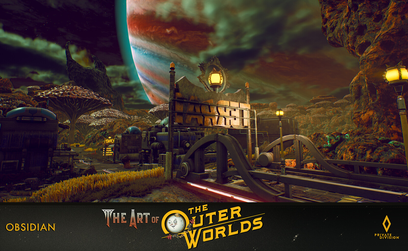 The Outer Worlds Monarch World Building