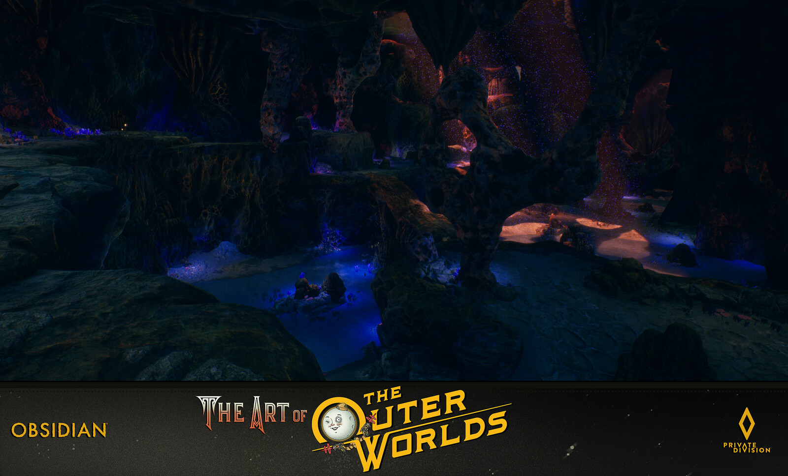 The Outer Worlds World Building Devils Peak Caverns