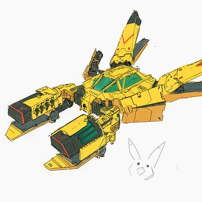 Hard surface sketches