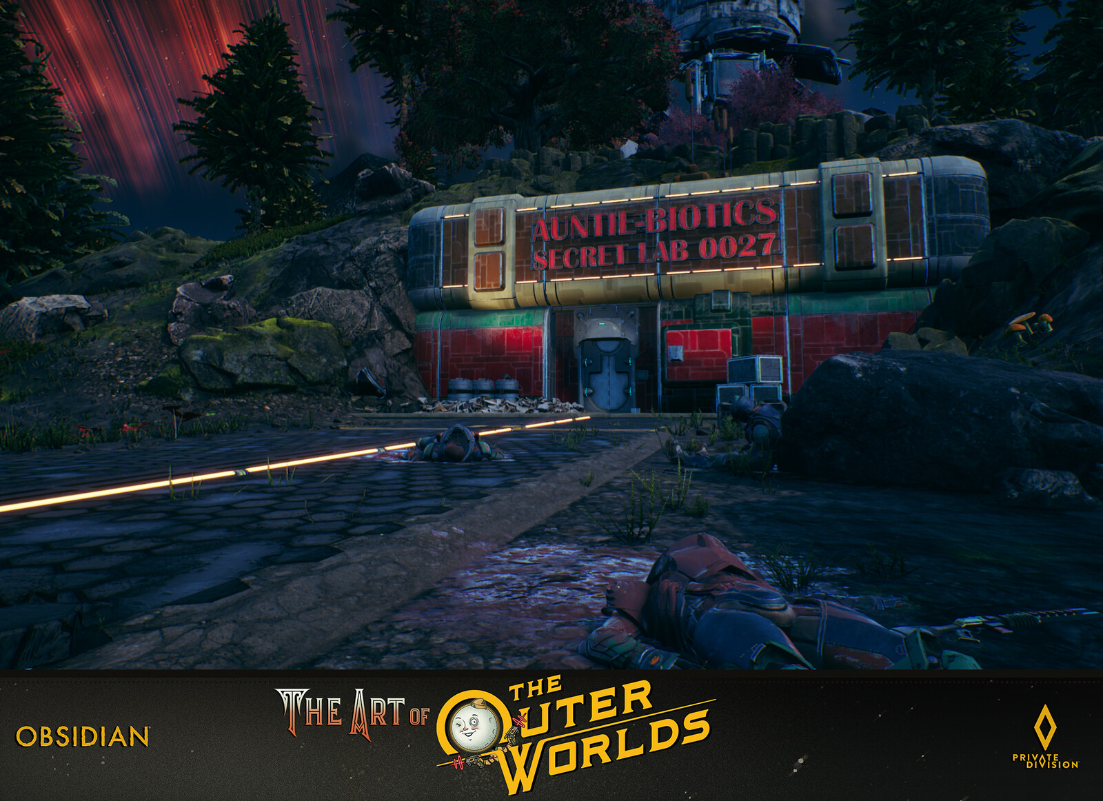 The Outer Worlds Level Building Auntie Cleos Secret Lab 0027