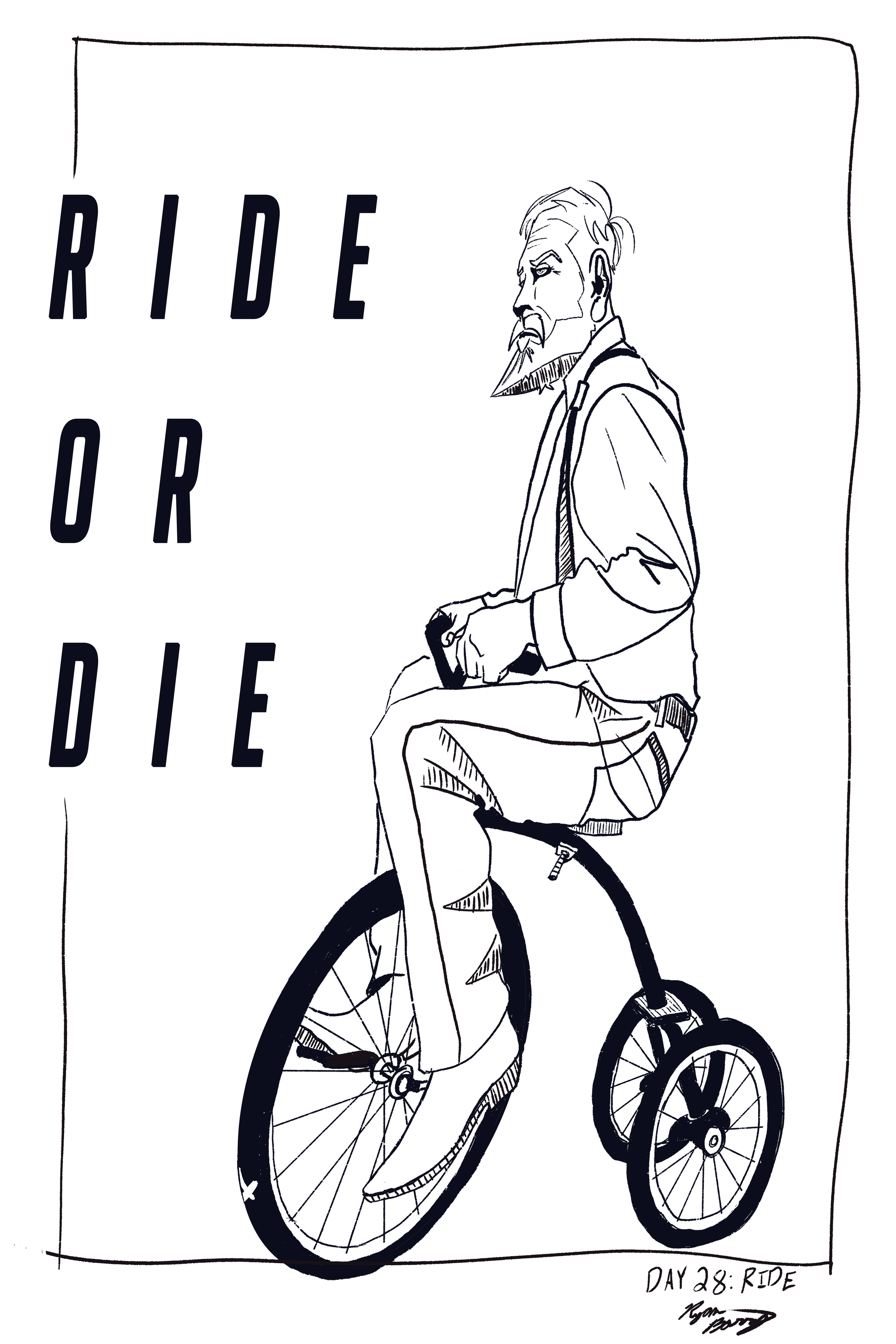 Day 28: Ride