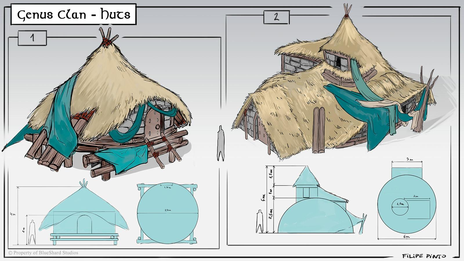 Genus' Huts