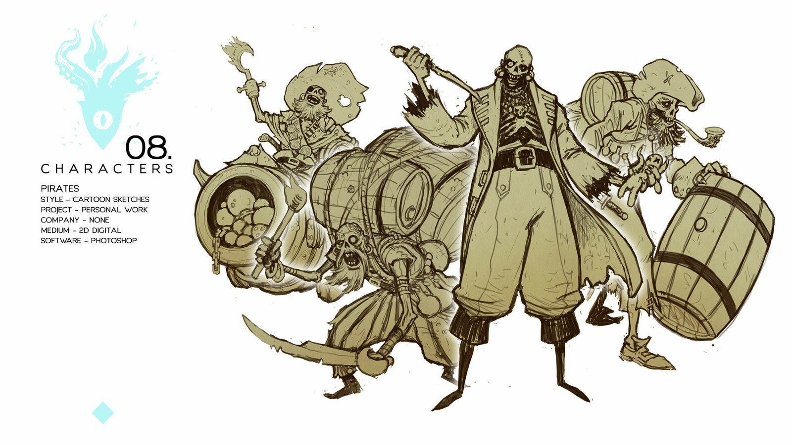 Pirates - Personal work