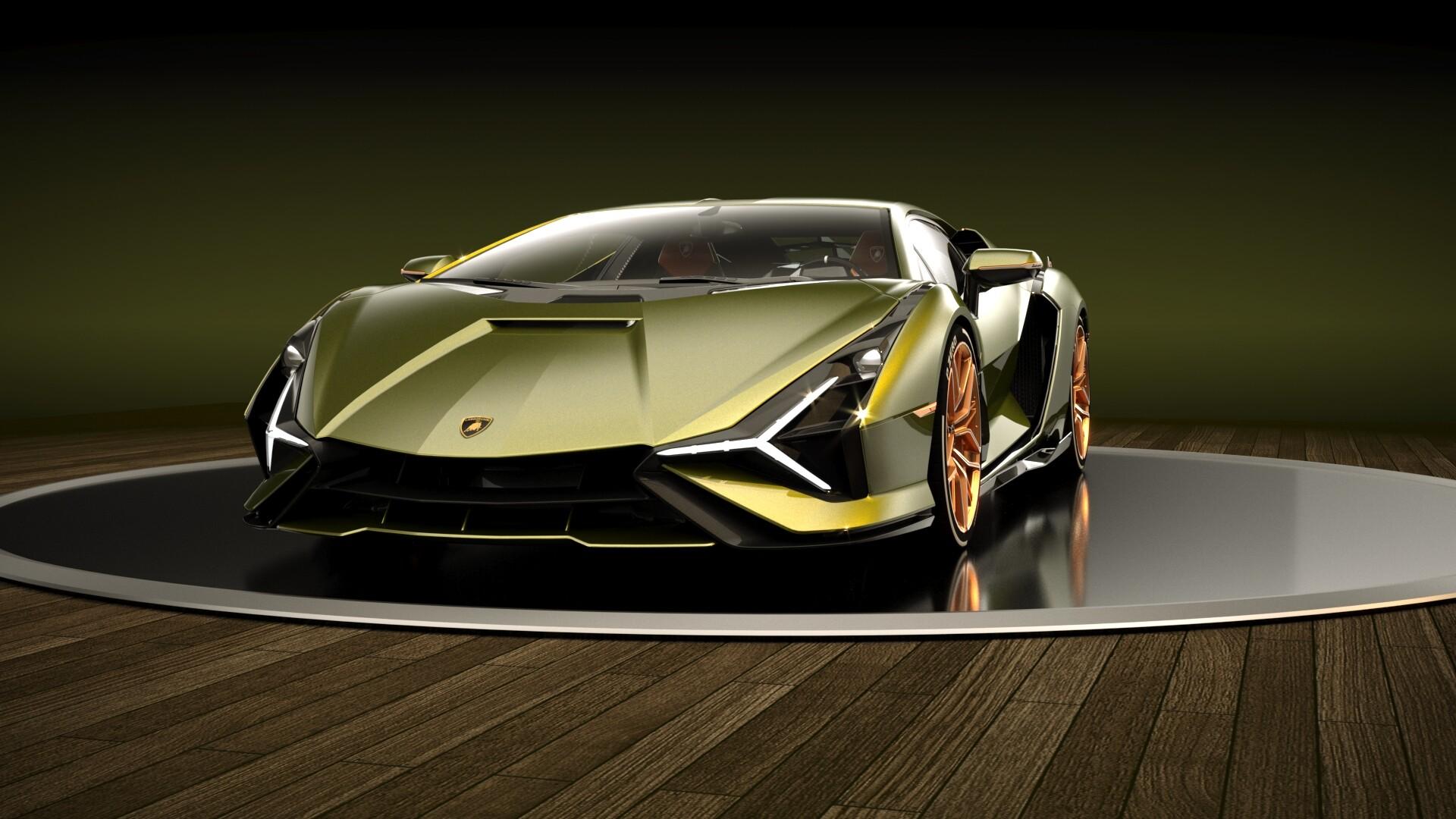 Russ Schwenkler - Lamborghini Sián FKP 37