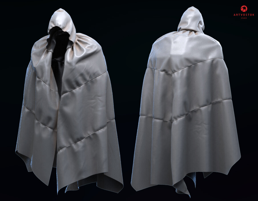 His hi-tech masking cloak. Well, it's time to stop.