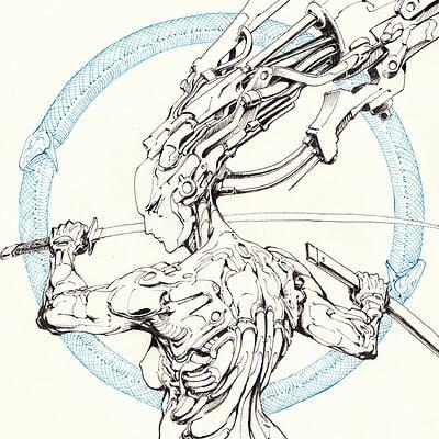 Atom cyber blade spirit