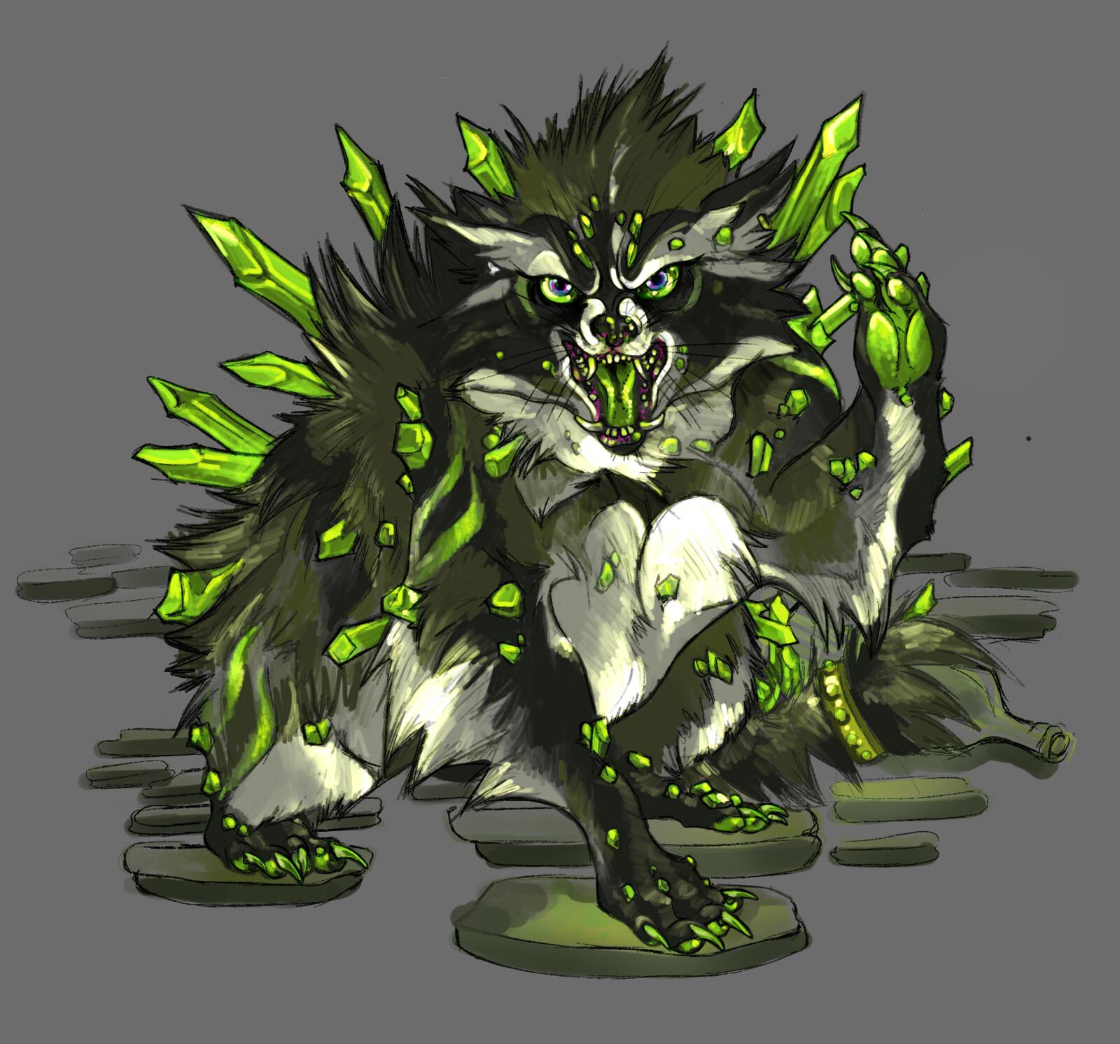 Fan Concept: Goblin Druid