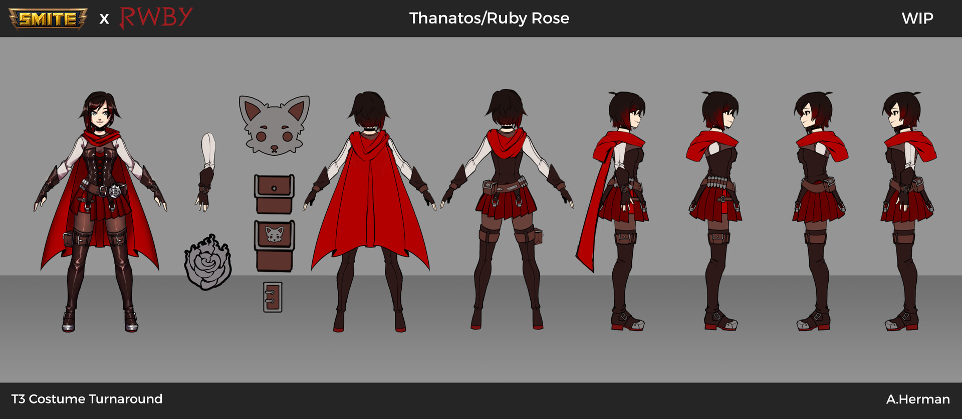 Ruby Season 7 Skin Orthographic