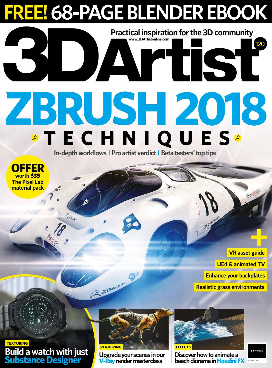 You can check out the article at a higher resolution here: https://issuu.com/danielahuactzin/docs/3d_artist_-_issue_120_2018/70