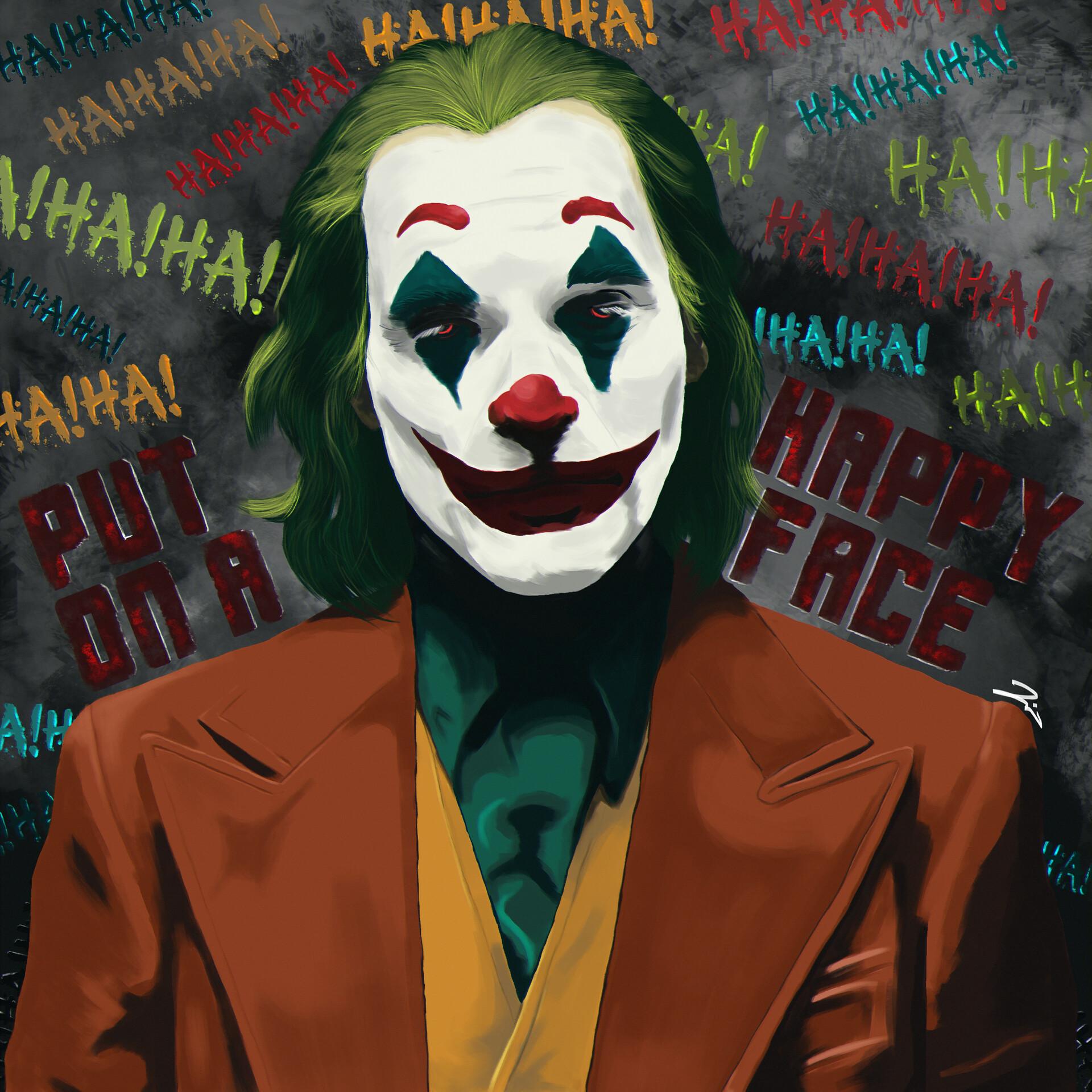 Artstation Joker 2019 Joaquin Phoenix Artwork Maha Rishen