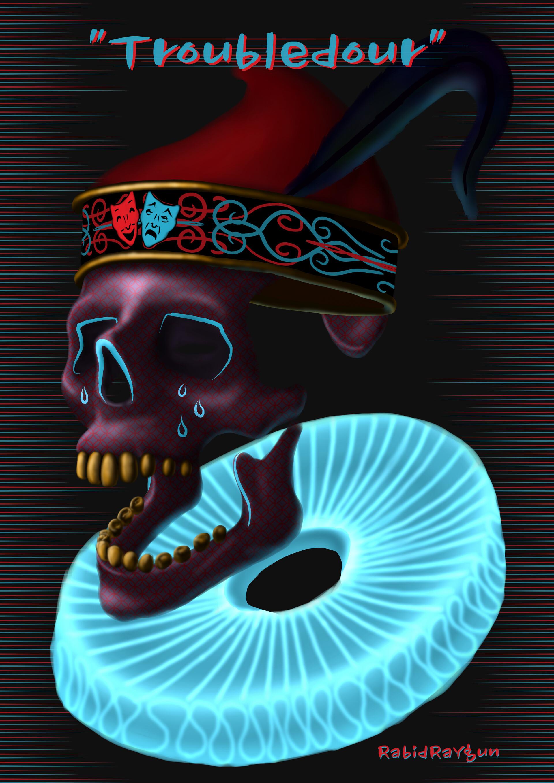 Artstation Watch Dogs Legion Mask Design Troubledour Rabid Raygun