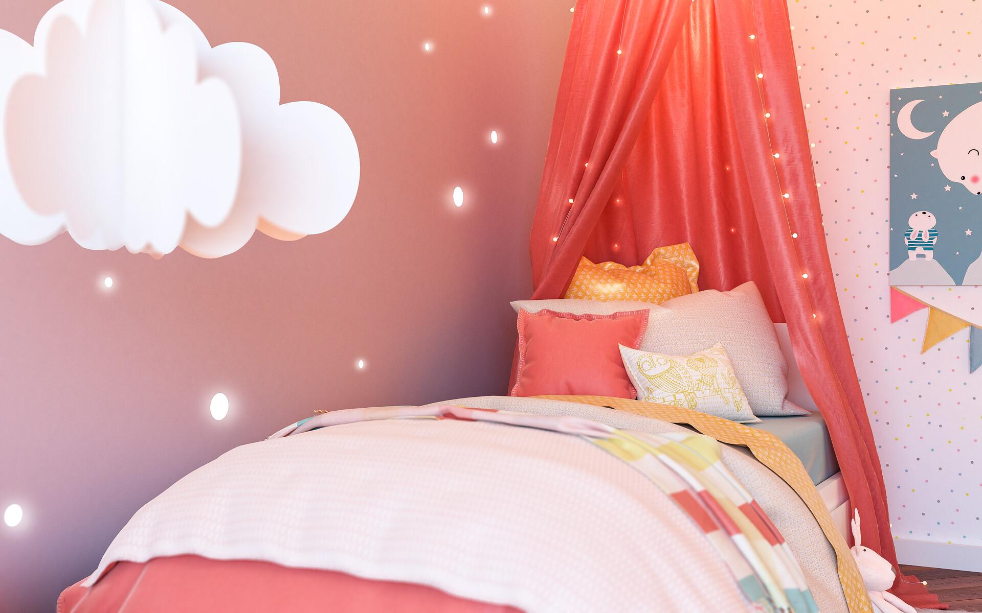 3d factory 3df portfolio chambre enfant lit