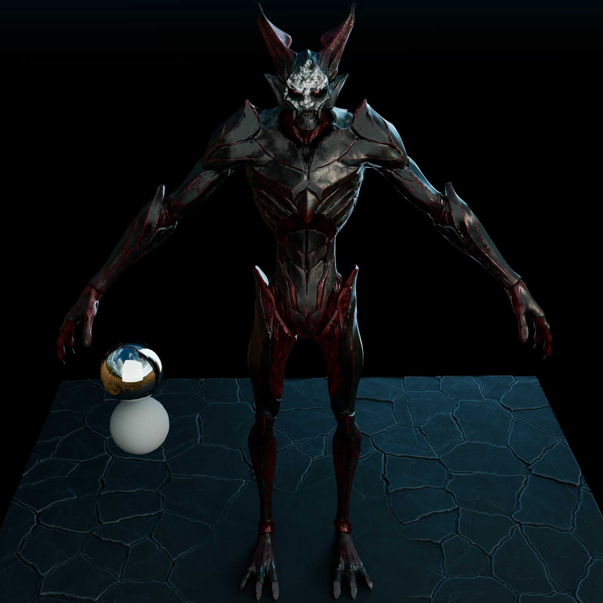 The Final demon Texture (WarPaint Variation)