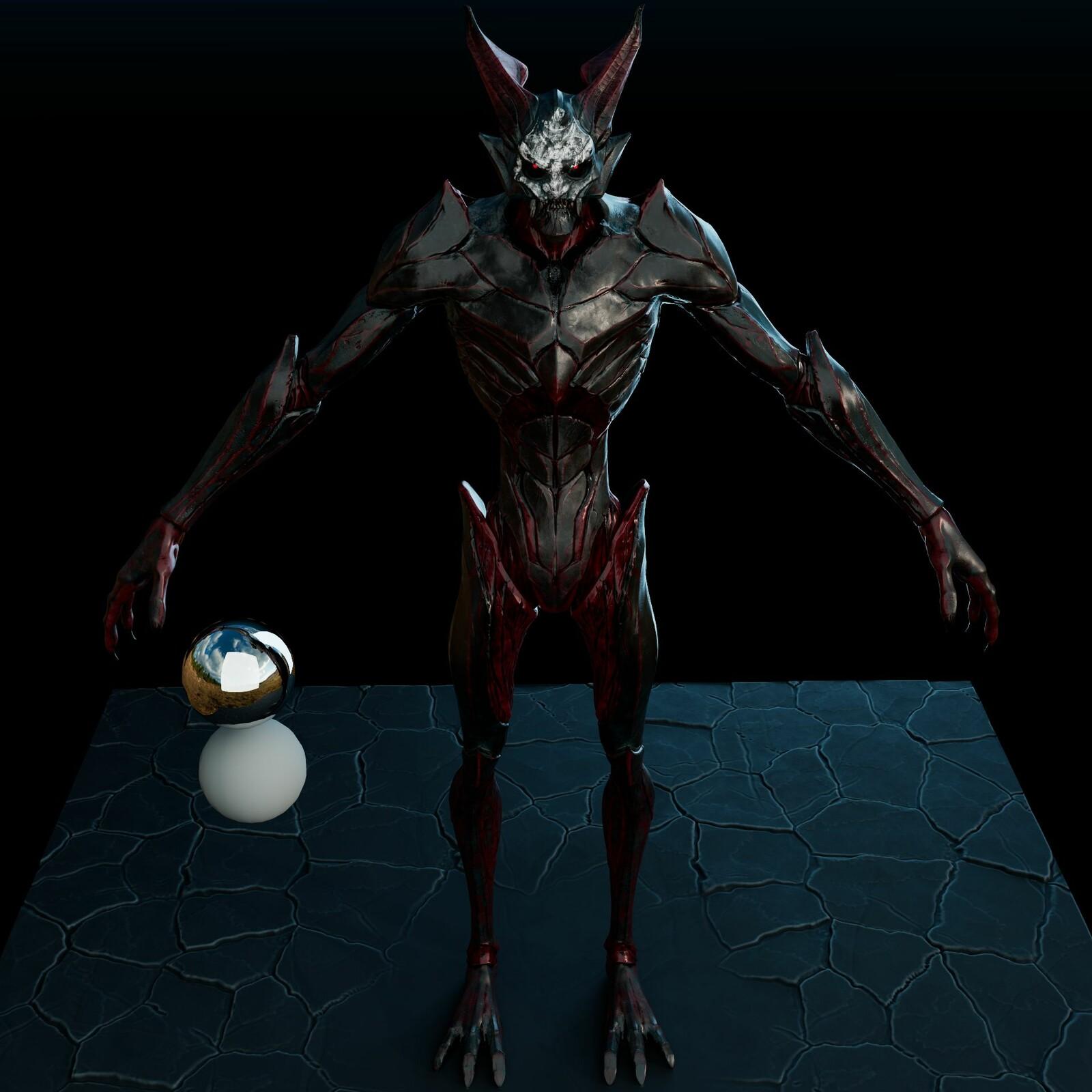 The Final demon Texture (WarPaint Variation)