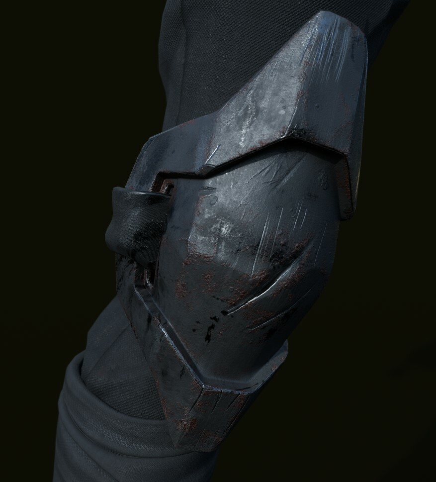 KneePads on Substance Painter