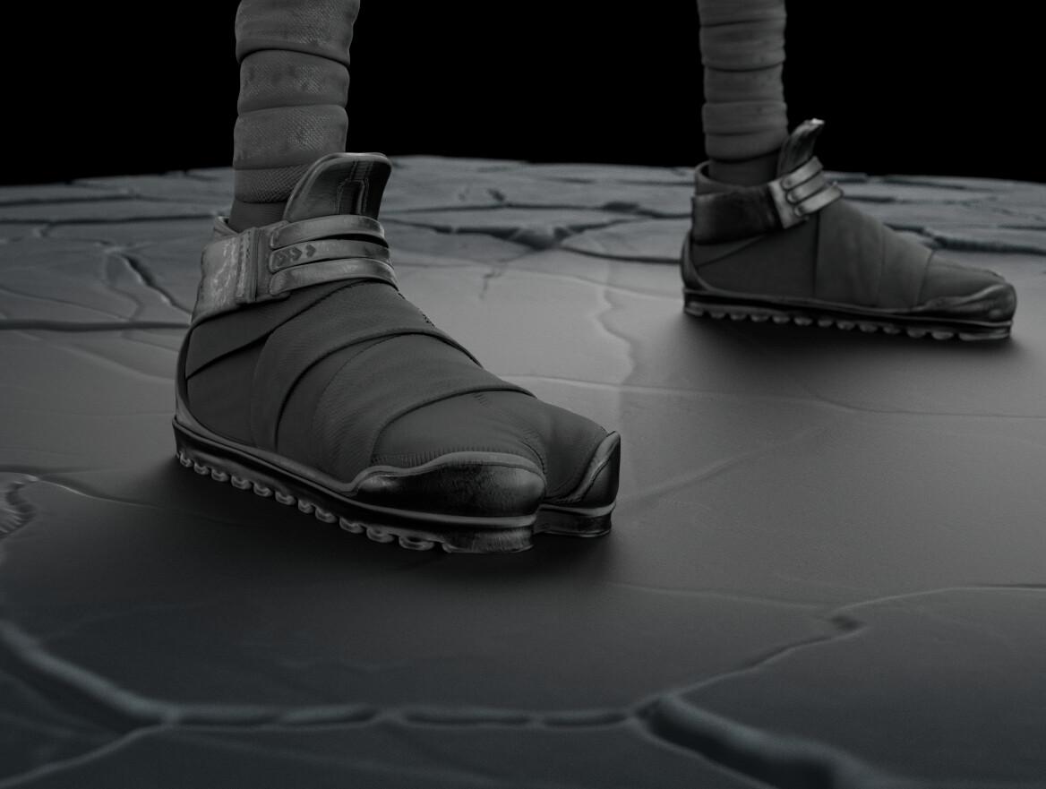 Shoes textures.