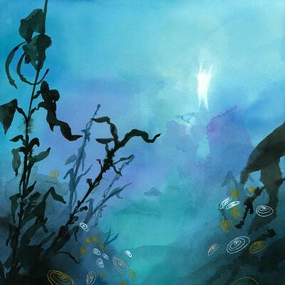 Bianca maria scrugli gost underwater