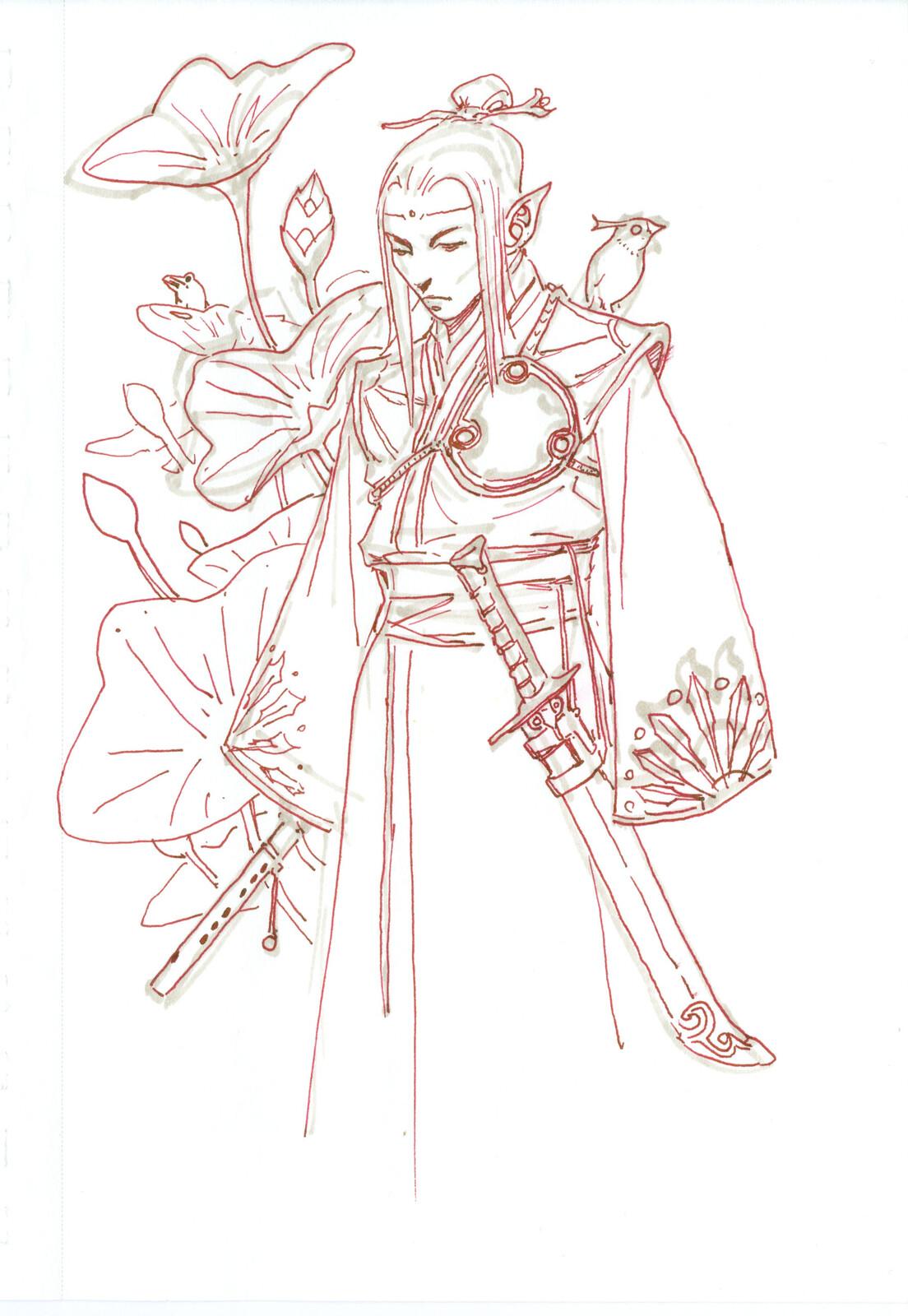 Chinese Elf Prince