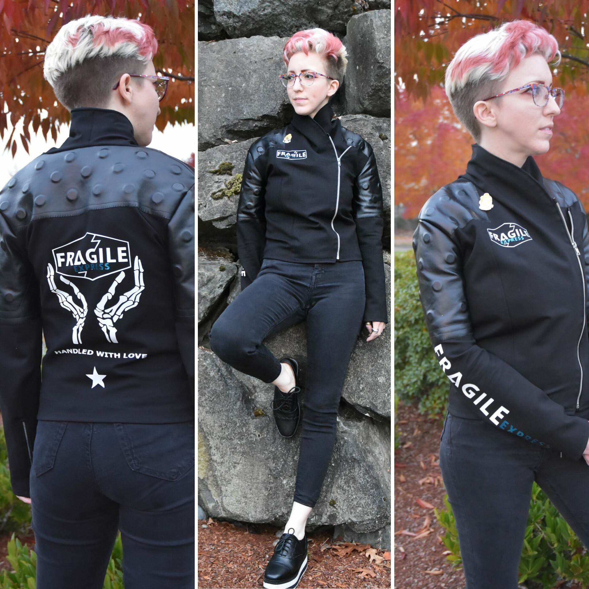 Melanie Bibko Death Stranding Fragile Jacket Fragile's father was the founder of fragile express, and when he died, the torch was passed down to her. melanie bibko death stranding fragile
