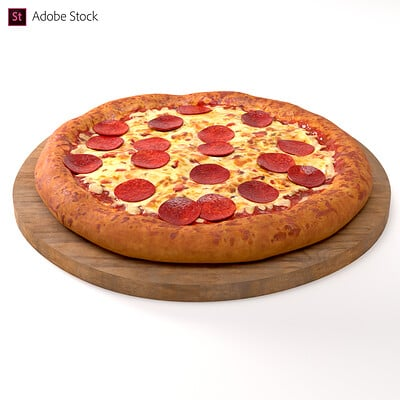 Adobe Stock | Pepperoni Pizza