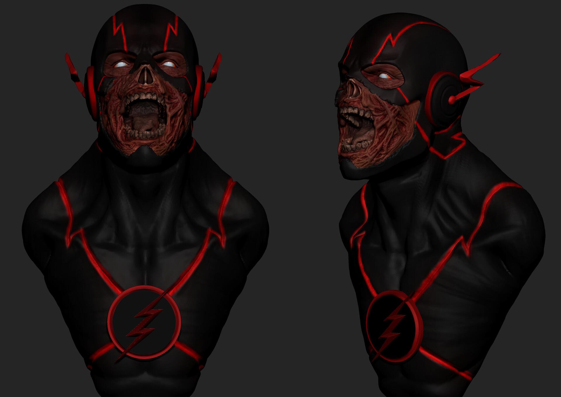 Caio Carrieri Black Flash Fan Art