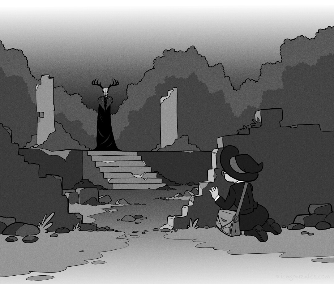Day 11 - The ruins and their keeper
