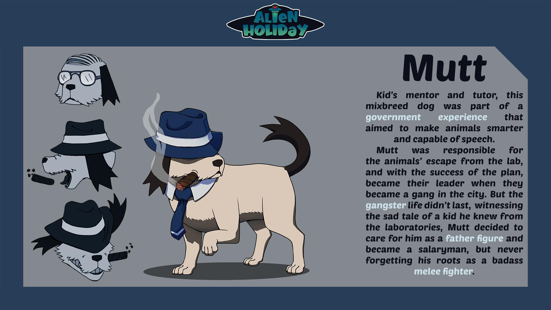 Mutt - Ex-gang member Salaryman
