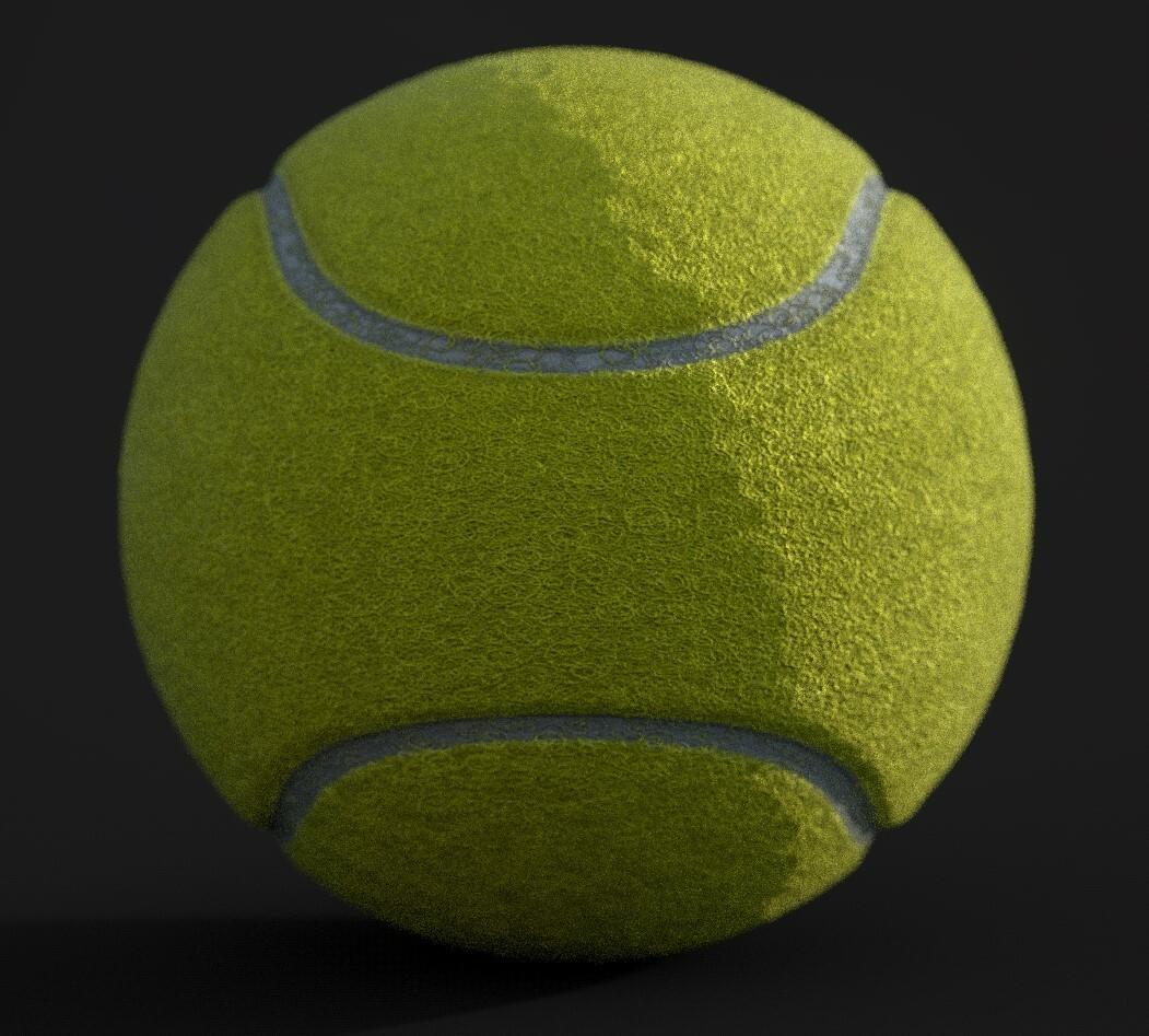 Marcelo Souza Procedural Basketball And Tennis Ball Substance Designer