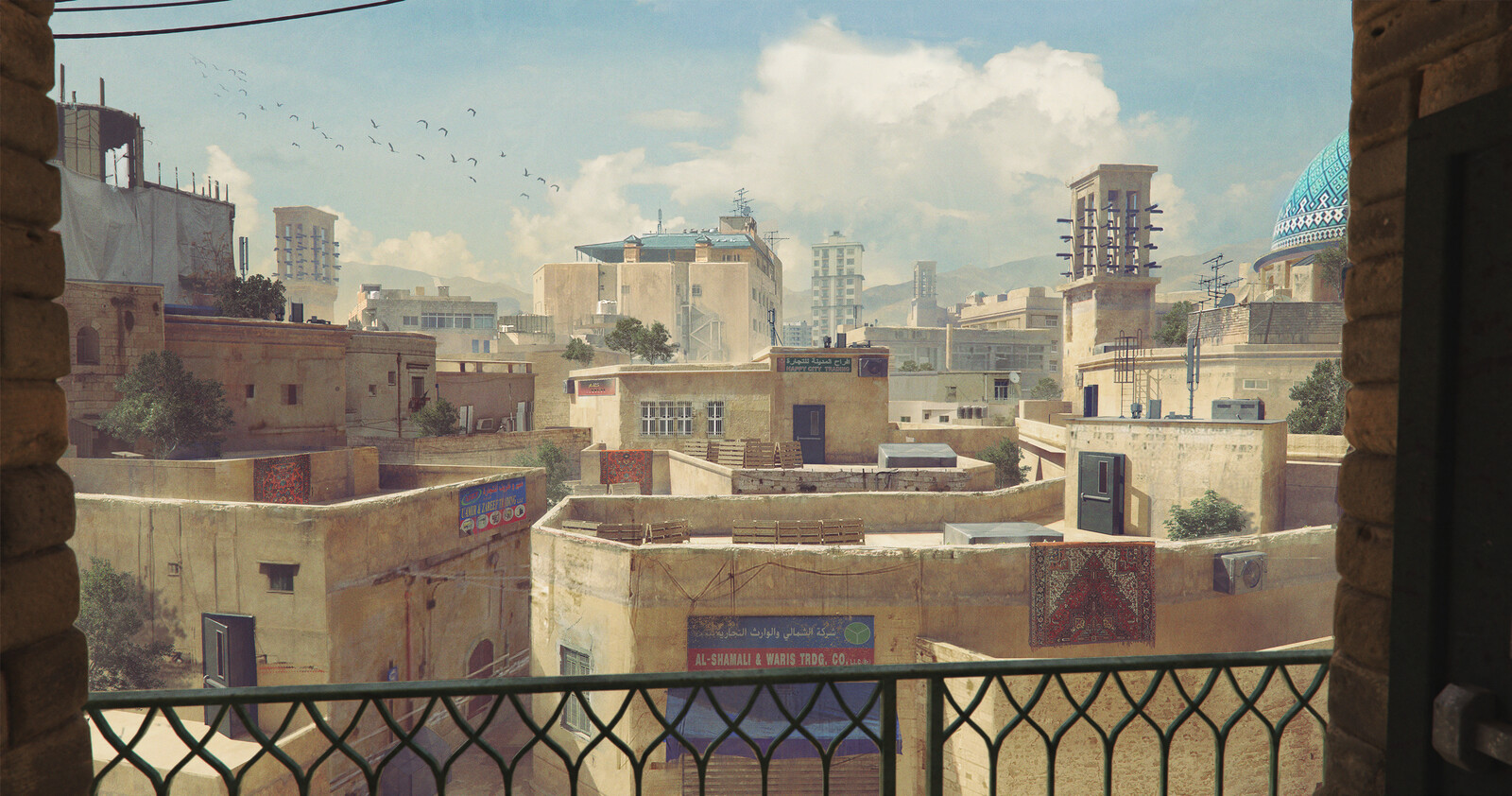 Middle Eastern City