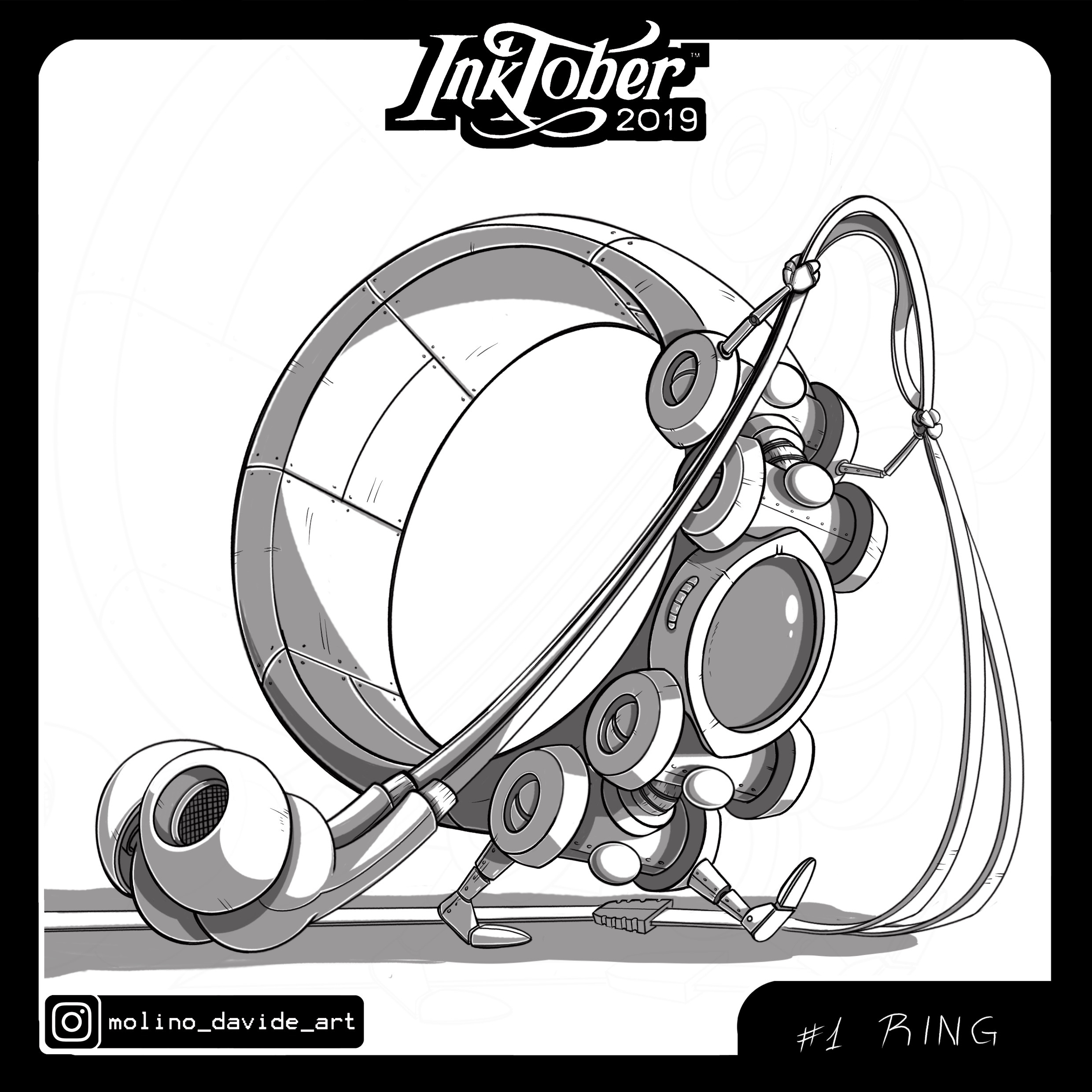01: Ring. A tiny robot that you can wear on your finger and use to entangle the earphones in your pocket