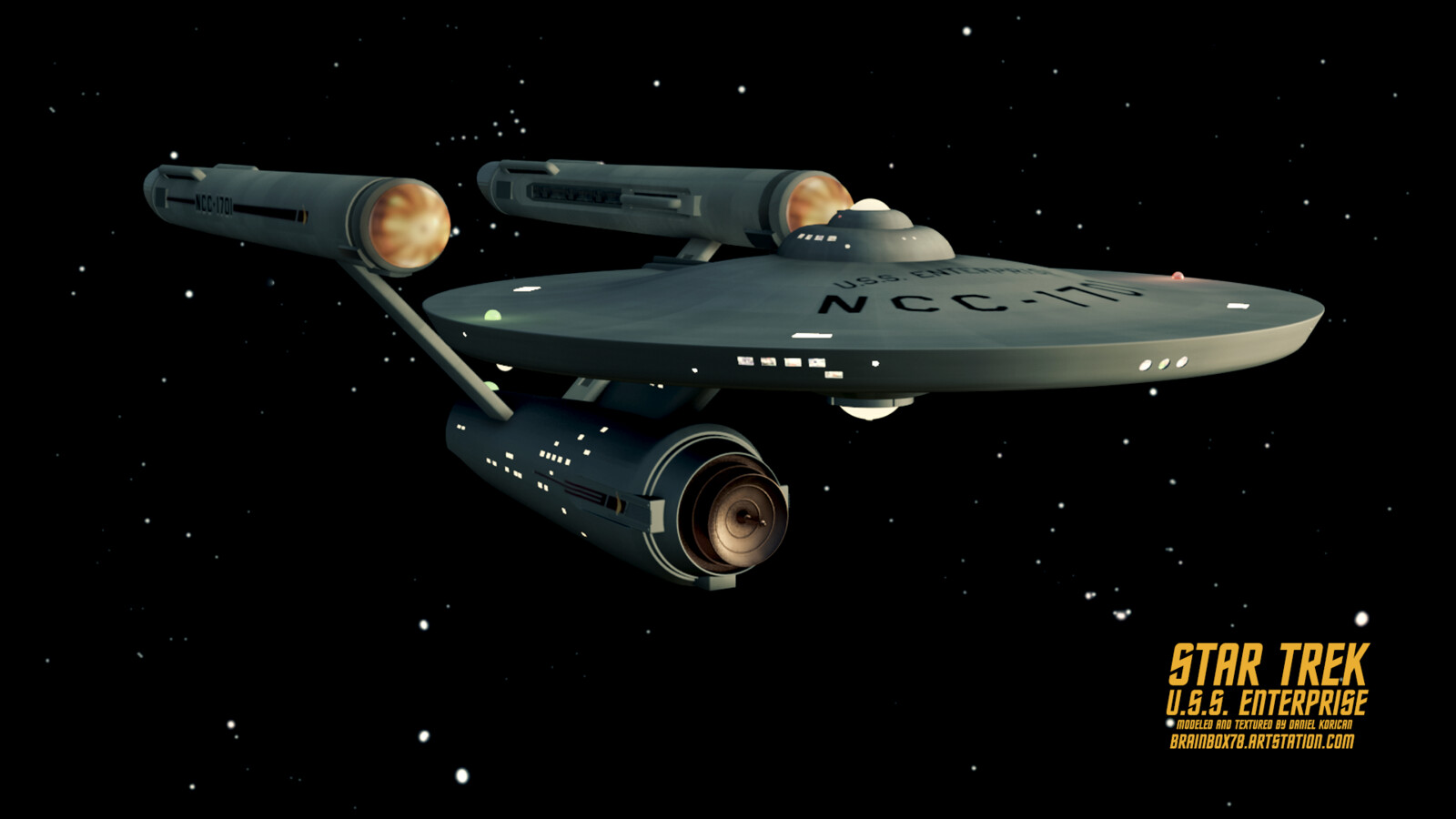 Star Trek The Original Series - U.S.S. ENTERPRISE