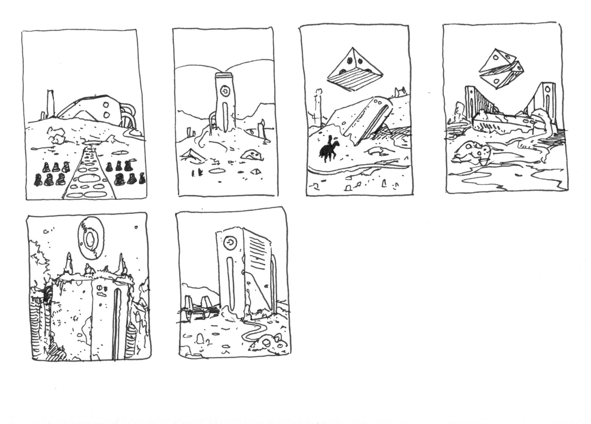 Christian herman sketches